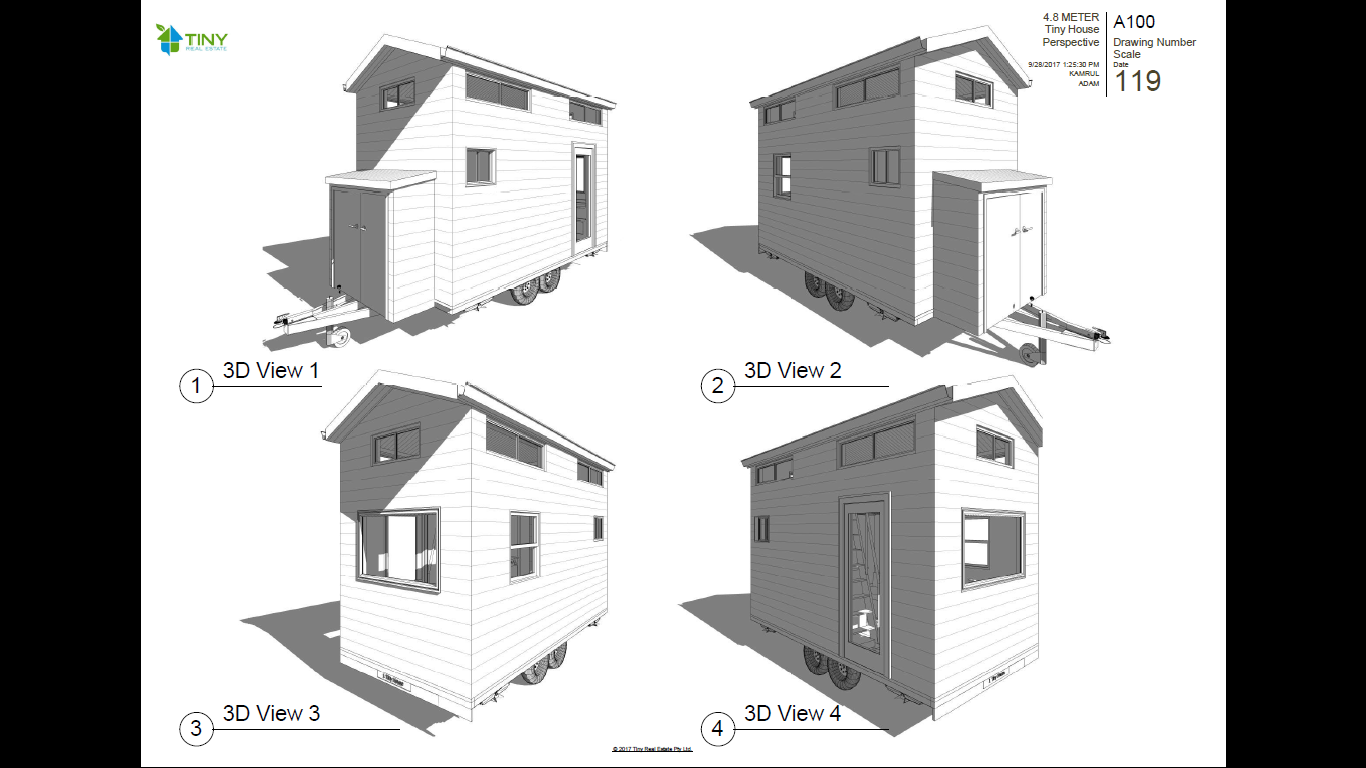 land to park your tiny house