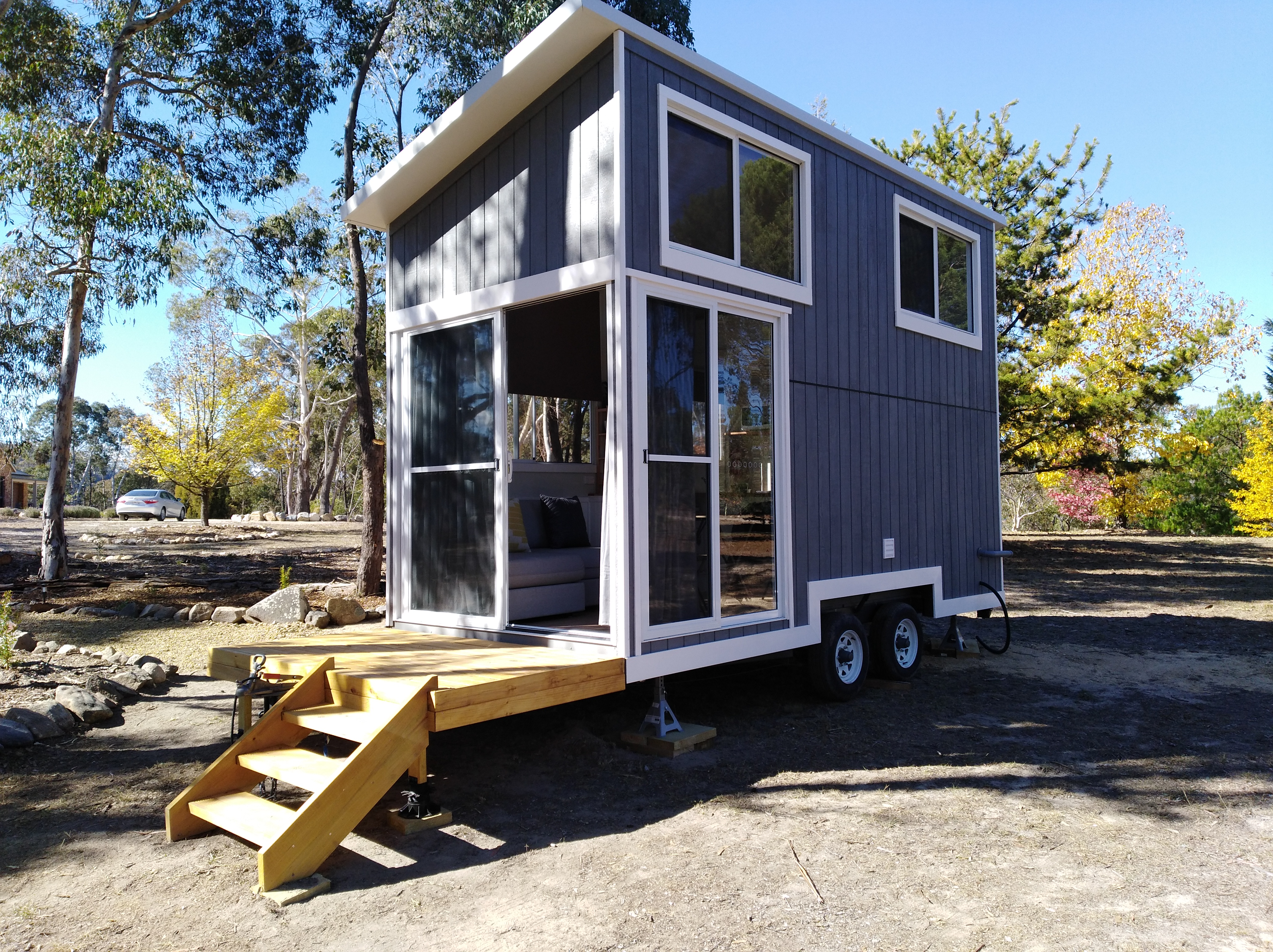 Whispers Tiny house for rental