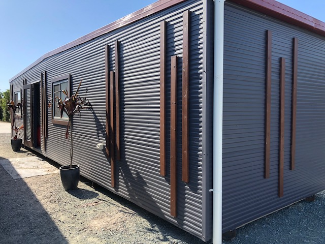 Portable Cabin, Demountable Building, Tiny House 12m x 3m